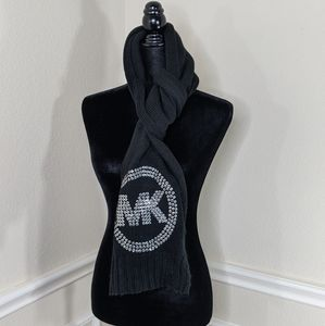 Michael Kors Black Winter Scarf